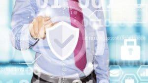 """Portada del curso """"Gestión de riesgos de seguridad para empresas"""""""