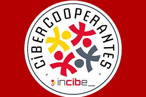 Logotipo del programa de Cibercooperantes de INCIBE